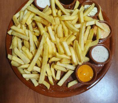 Patatas 6 Salsas